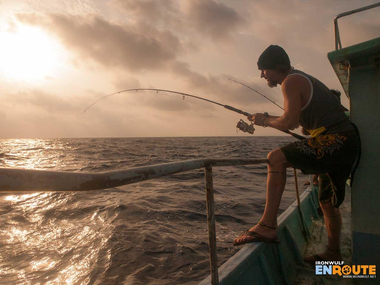 Deep sea fishing in Batanes at Bagong Tuklas
