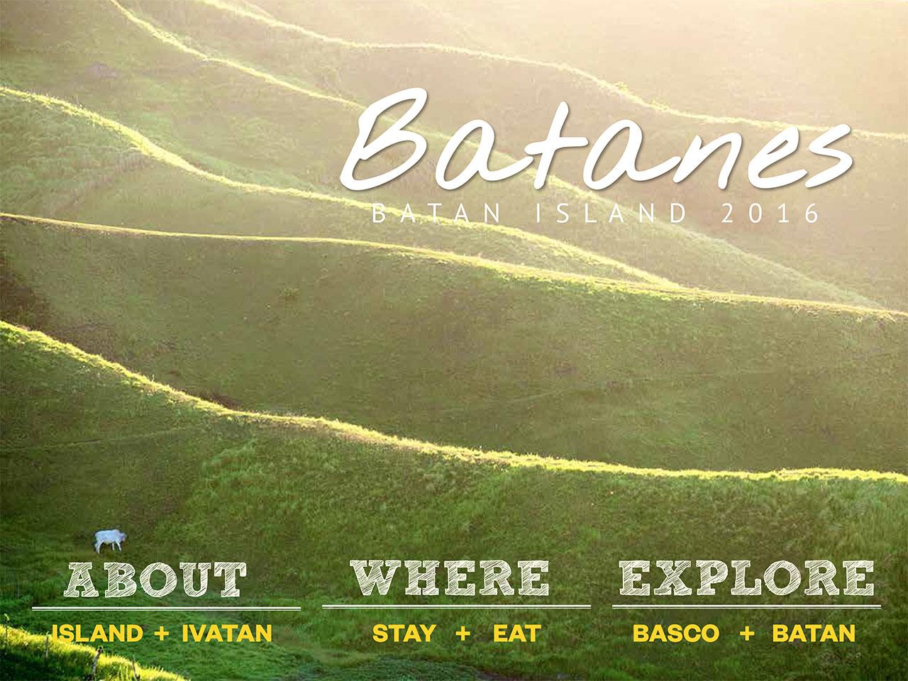 The Batanes Travel Guide Batan Island 2016 Edition