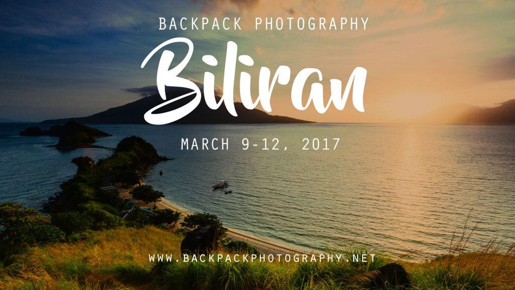 Backpack Photography Biliran