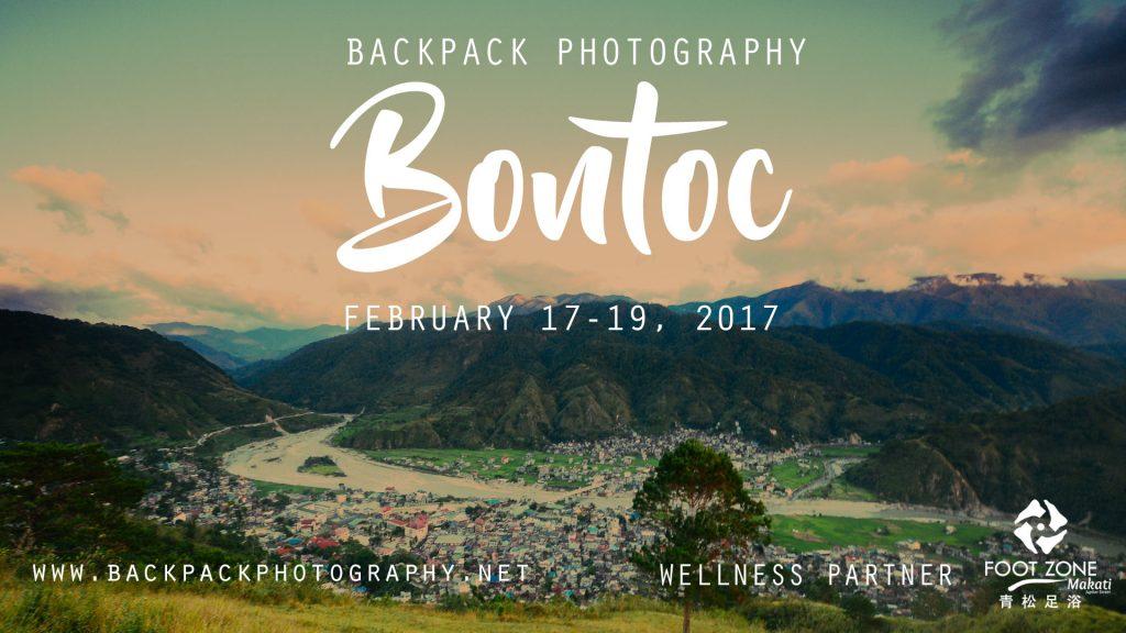 Backpack Photography Bontoc