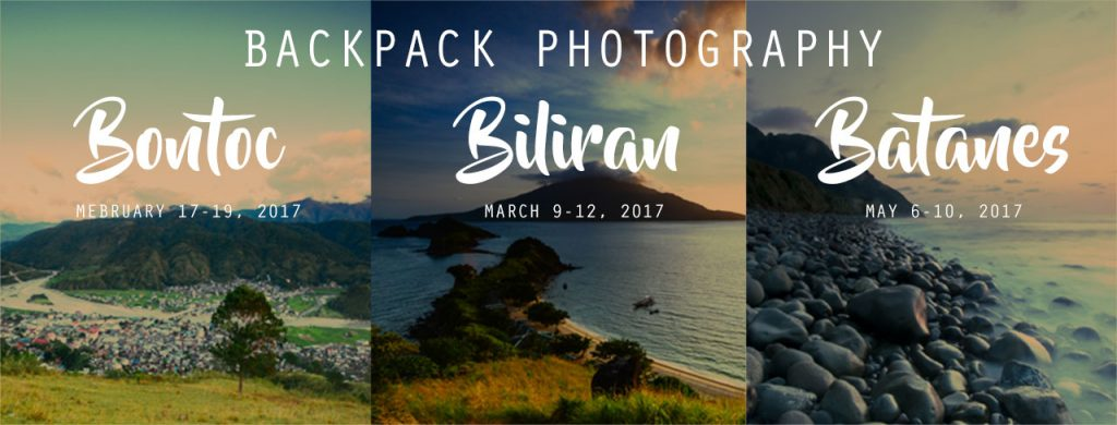 Backpack Photography 2017