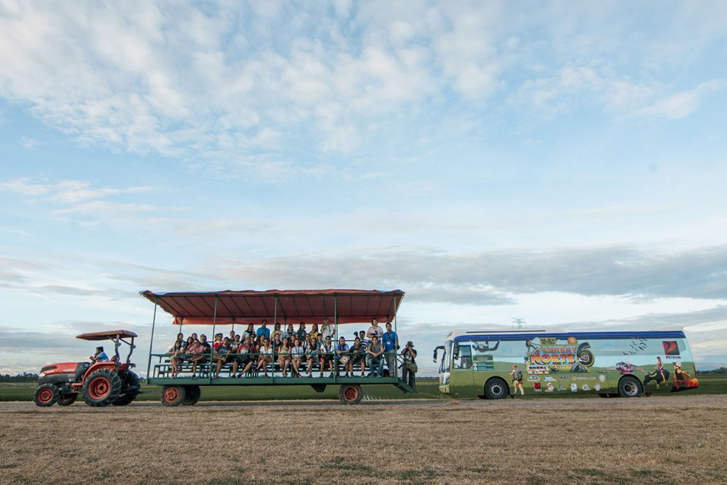 Lakbay Norte crew in Nueva Ecija