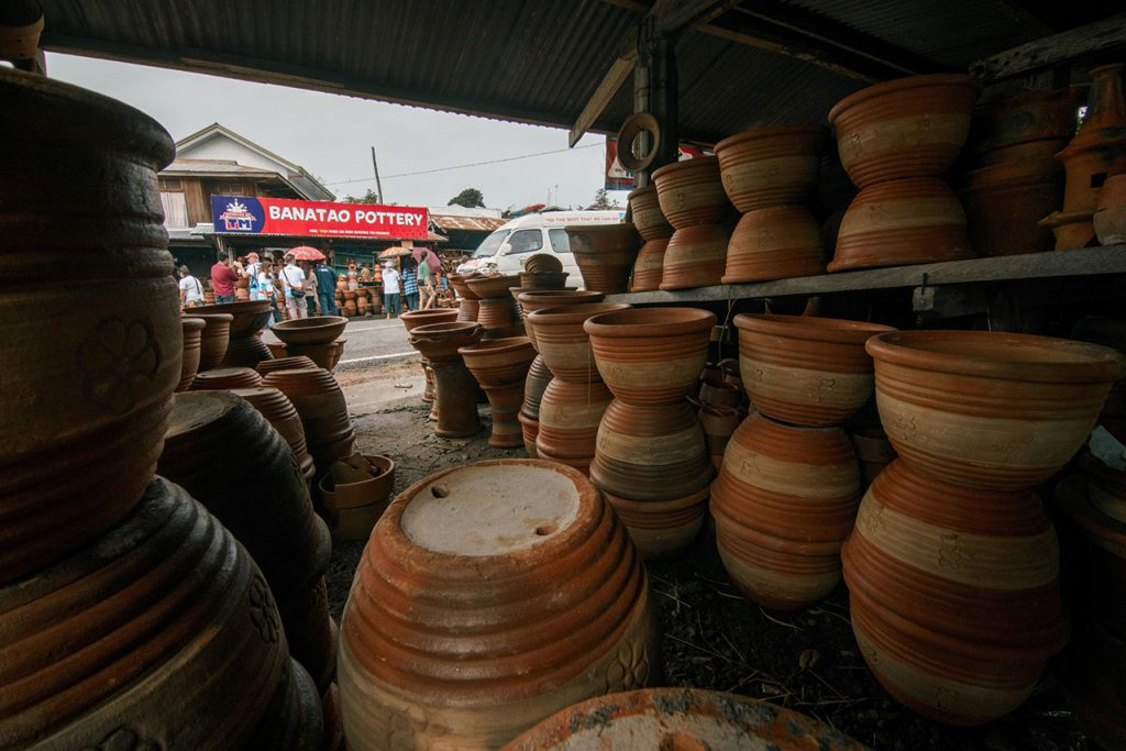 The pottery industry in Iguig (Photo by Martin San Diego)