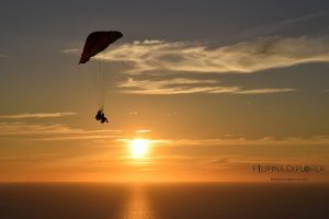 Paragliding activity with Narvacan Outdoor Adventure Hub