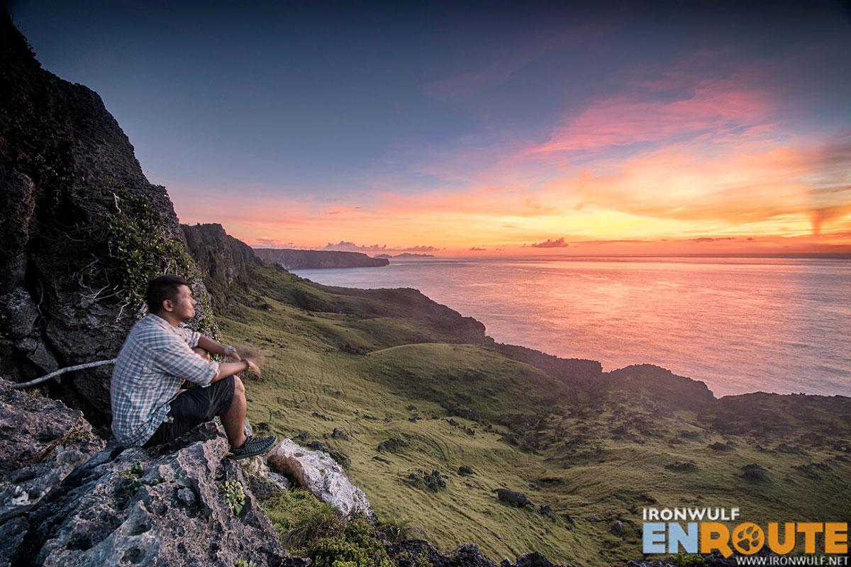 Sunrise at Rapang Cliffs