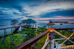 Sundown at Stilts Calatagan Batangas