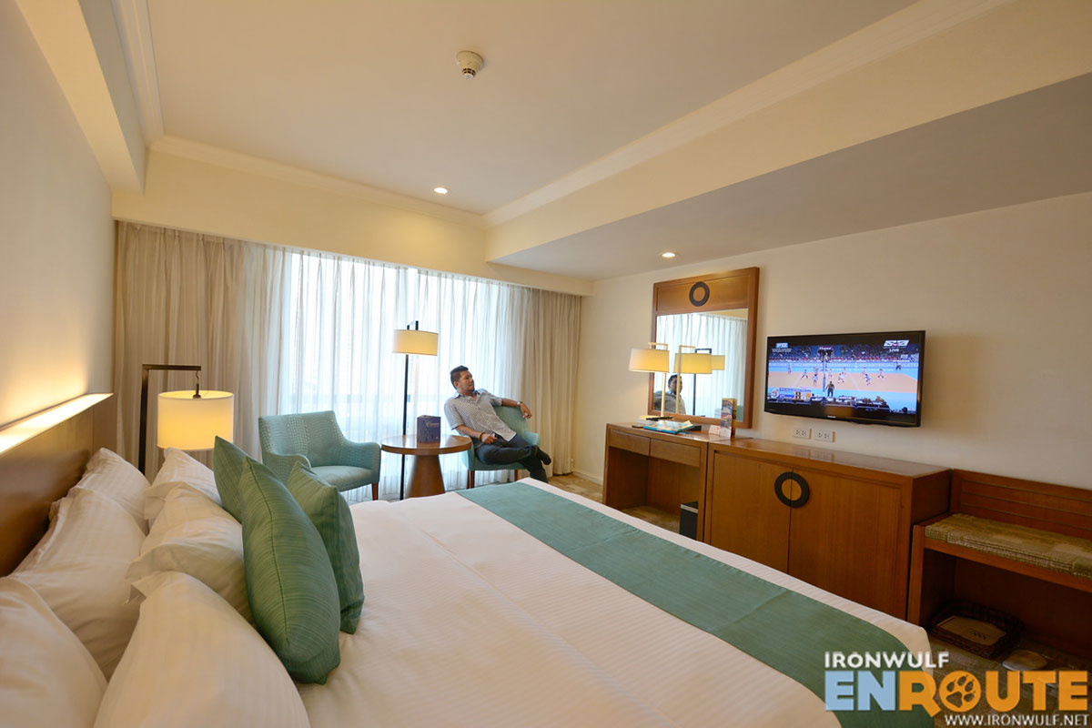 My Deluxe Premium room at Waterfront Manila Pavilion