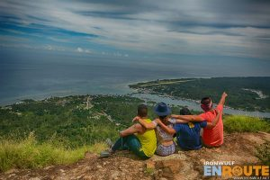 At one of the peaks of Bud Bongao