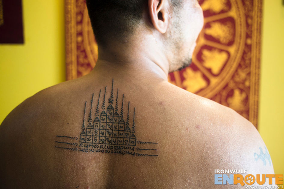 Sak Yant Tattoo in Chiang Mai: Inked the Easy Way | Ironwulf En Route