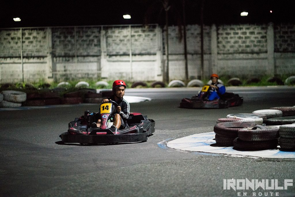 Speeding through Kart City Tarlac