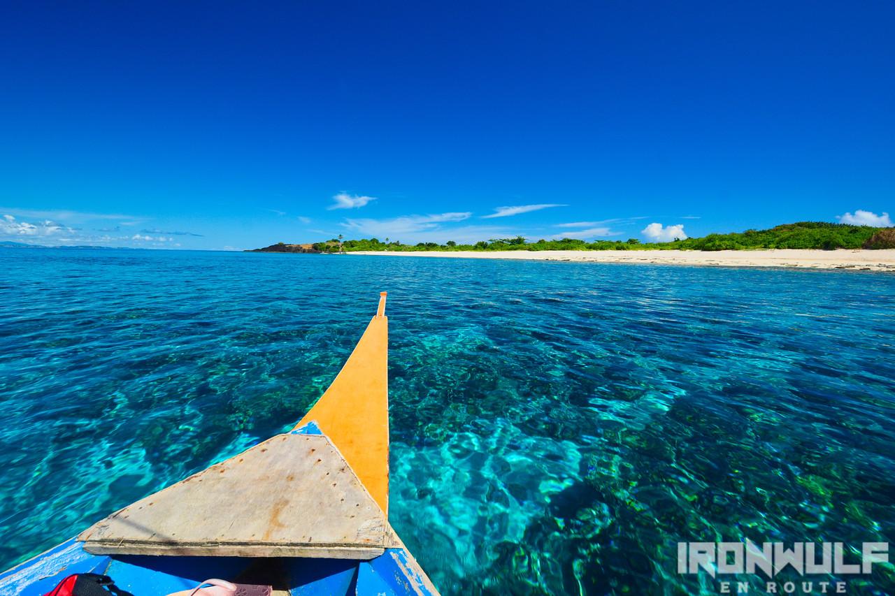 Approaching Tignob Island of Palumbanes Islands