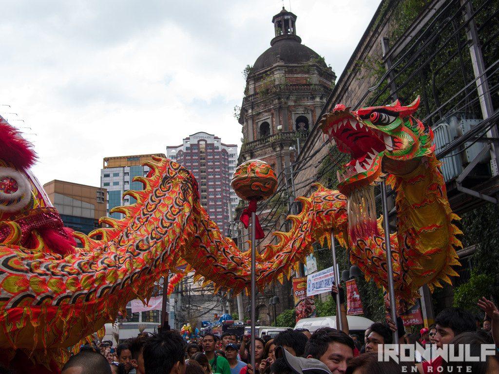 Chinese new year at China Town