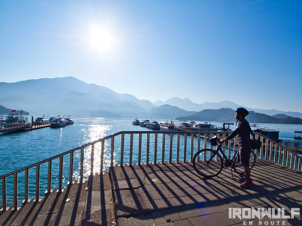 A Short Scenic Bike Ride Along Sun Moon Lake | Ironwulf En