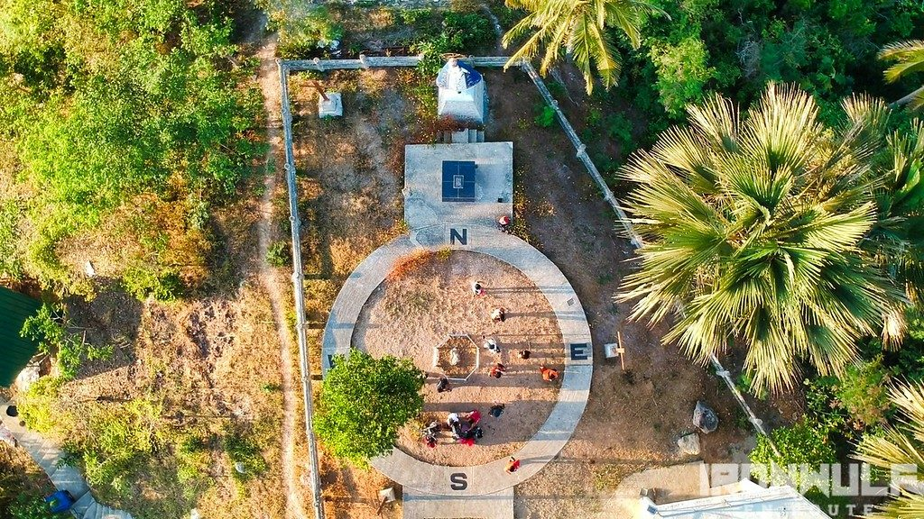 Birds eye view of Luzon Datum of 1911 site