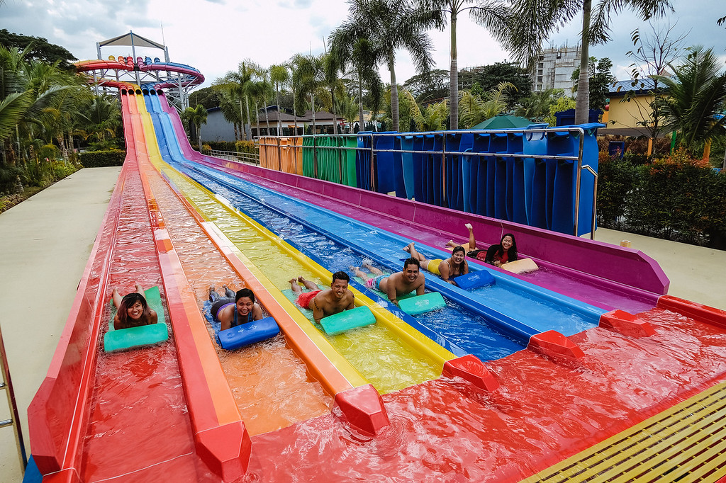 Octopus Racer slide at Aqua Planet