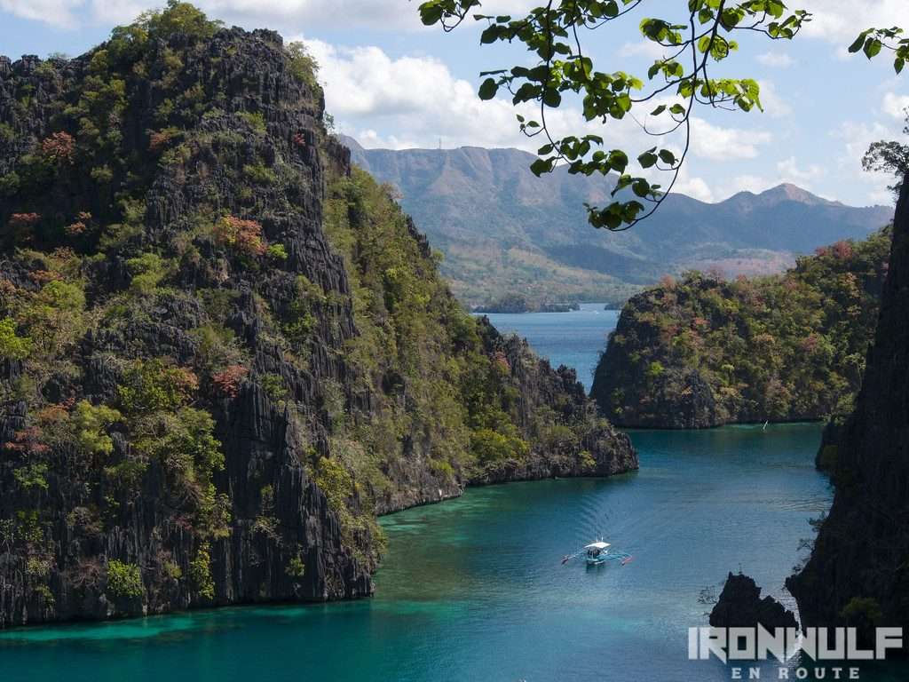 Coron entrance to Kayangan lake