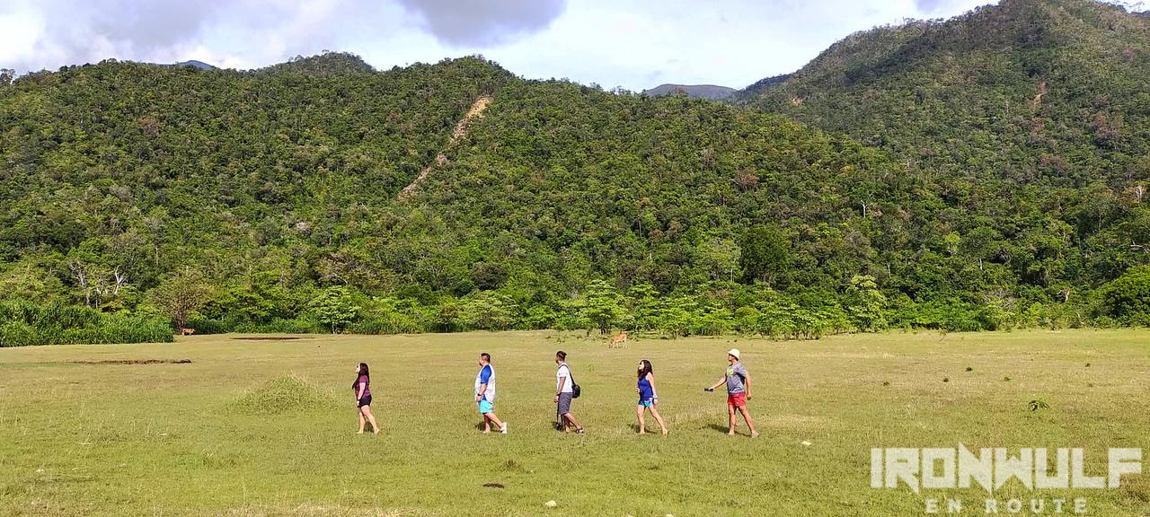 Open field walk at Sibuyan Island