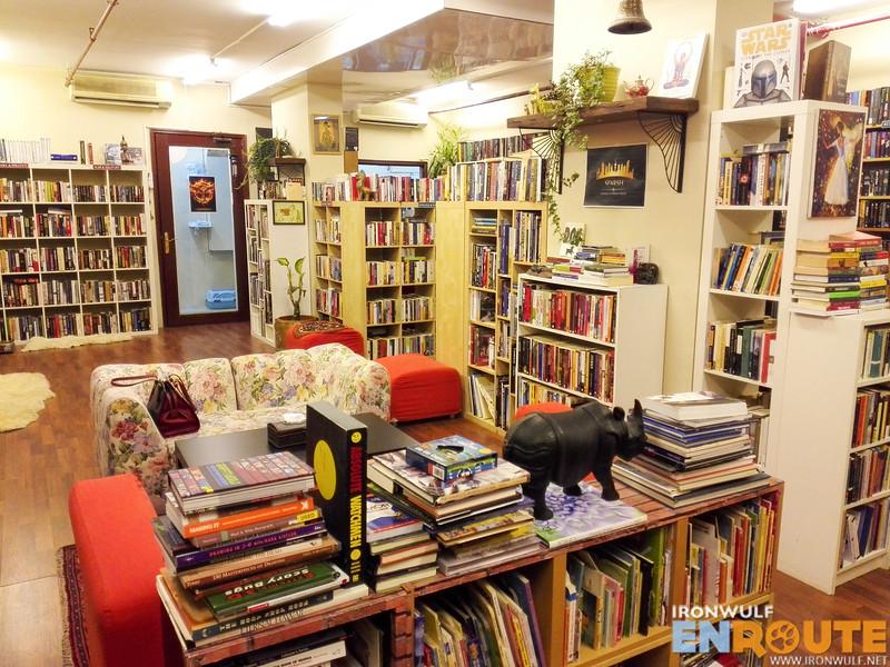 Inside Better Books in Salmiya