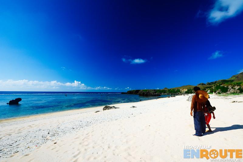 Lukoy Beach, the secret white beach of Sabtang Island