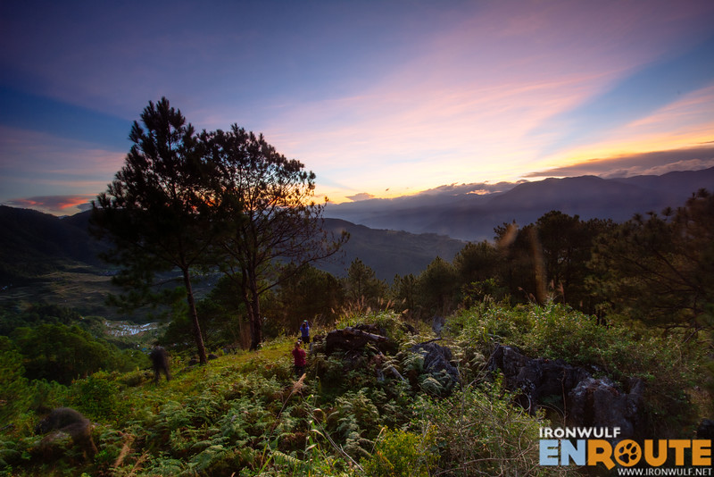 Sunrise at Mt Fato Maligcong