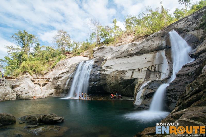 Magnificent Tangadan Falls